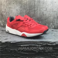 Puma R698 Classic Vintage Running Shoes Red White Best