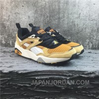 Puma R698 Yellow White Running Shoes New Release