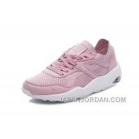 New Release 2017 Spring/Summer Puma R698 Pink Women Running Shoes Vintage