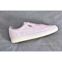 Puma Suede Classic Elemental Women Men Shoes Fur Leather Pink Free Shipping
