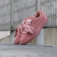 PUMA Suede Heart Satin II 364084-03 ButterFly Pink Super Deals