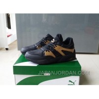 PUMA TRINOMIC BLAZE 362022-01 Black Gold Super Deals