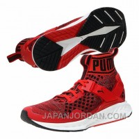 PUMA Ignite EvoKnit Red 189697 02 1609-5