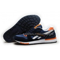 オンライン Reebok GL6000 Womens Classic Running Deepblue Orange