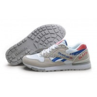 オンライン Reebok GL6000 Womens Classic Running White Grey Blue Red