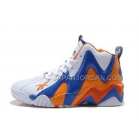 送料無料 Reebok Kamikaze II Mid Mens Fashion Sneaker Basketball Orange Blue White