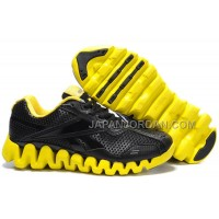 送料無料 Reebok Zig FUEL Mens Black Yellow