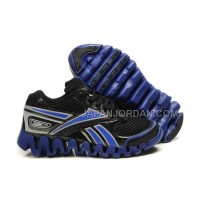 送料無料 Reebok Zig FUEL Womens Black Blue