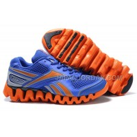 送料無料 Reebok Zig FUEL Womens Blue Orange
