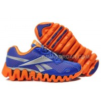 送料無料 Reebok Zig FUEL Womens Blue Red Silver