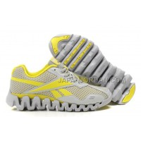 送料無料 Reebok Zig FUEL Womens Grey Yellow