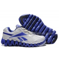 送料無料 Reebok Zig FUEL Womens Silver Blue White