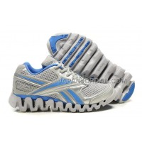 送料無料 Reebok Zig FUEL Womens Silver Grey Blue