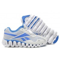 送料無料 Reebok Zig FUEL Womens White Blue
