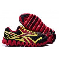 新着 Reebok ZIG TECH For Mens Black Red Yellow