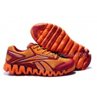 新着 Reebok ZIG TECH For Mens Orange Red