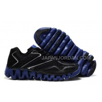 送料無料 Reebok ZigSonic Running Mens Black Blue