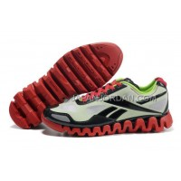 新着 Reebok ZigTech Mens Green Black White Red