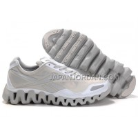 新着 Reebok ZigTech Mens Grey White