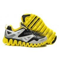 新着 Reebok ZigTech Mens Leather Black Yellow
