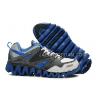送料無料 Reebok ZigTech Mens Leather Gray Blue White