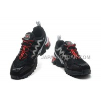 ホット販売 Salomon GCS Mens Black Red