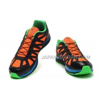 Salomon Kalalau Mens Orange Black Green 本物の