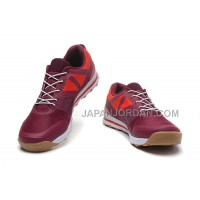 Salomon Outban Low Mens Brulywood Red Peru 本物の