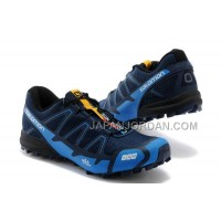 ホット販売 Salomon S-Lab Fellcross 2 Mens Navy Cyan