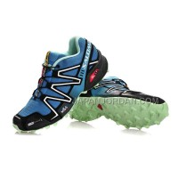 Salomon Speedcross 3 CS Mens Cyan Black Olive 本物の