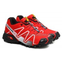 ホット販売 Salomon Speedcross 3 CS Womens Black Red Black