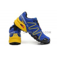 Salomon Speedcross 3 Mens DarkBlue 本物の