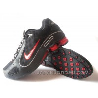 Men's Nike Shox Monster Shoes Black/Red Authentic