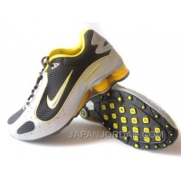 Men's Nike Shox Monster Shoes Black/White/Yellow Authentic