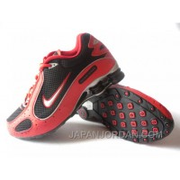 Men's Nike Shox Monster Shoes Red/Black/Silver Free Shipping