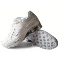 Men's Nike Shox Monster Shoes White/Grey Online
