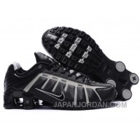 Men's Nike Shox NZ Shoes Black/Grey Lastest