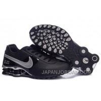 Men's Nike Shox OZ Shoes Black/Silver Lastest 344250