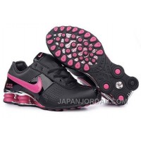 Women's Nike Shox OZ Shoes Black/Pink/Silver Cheap To Buy