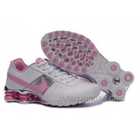 Women's Nike Shox OZ Shoes White/Silver/Light Pink New Release