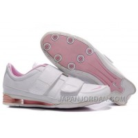 Women's Nike Shox R3 Shoes White/Light Pink New Release