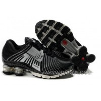 Kid's Nike Shox R4 Shoes Black/Cool Grey Online