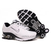 Kid's Nike Shox R4 Shoes White/Black Cheap To Buy