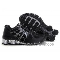Men's Nike Airmax 2009 & Shox R4 Shoes Black/Silver Super Deals