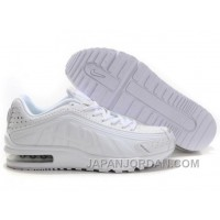 Men's Nike Shox R4 & Air Max LTD Shoes All White Lastest