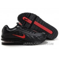 Men's Nike Shox R4 & Air Max LTD Shoes Black/Red Lastest