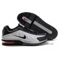 Men's Nike Shox R4 & Air Max LTD Shoes Silver/Black New Release