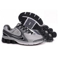 Men's Nike Shox R6 Shoes Dark Grey/Grey/Black Cheap To Buy