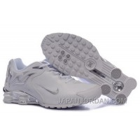 Men's Nike Shox Rch Shoes White/Brilliant Silver Cheap To Buy
