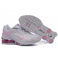 Women's Nike Shox Torch Shoes White/Light Pink/Brilliant Silver For Sale 344492